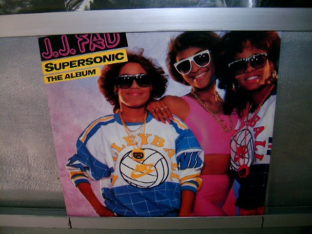 J.J.FAD supersonic the album LP 1988 SOUL MUSIC EXCELENTE MUITO RARO VINIL