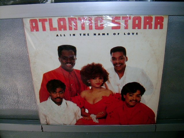 ATLANTIC STAR all the name of love LP 1987 SOUL MUSIC MUITO RARO VINIL