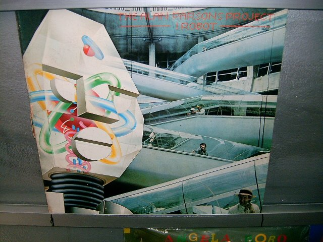 THE ALAN PARSONS PROJECT i probot LP 1977 ROCK EXCELENTE RARO VINIL