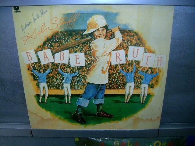 BABE RUTH kids stuff LP 1976 ROCK EXCELENTE MUITO RARO VINIL