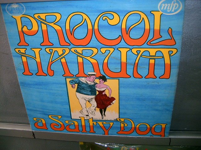 PROCOL HARUM a salty dog LP 1967 ROCK SEMI-NOVO MUITO RARO VINIL