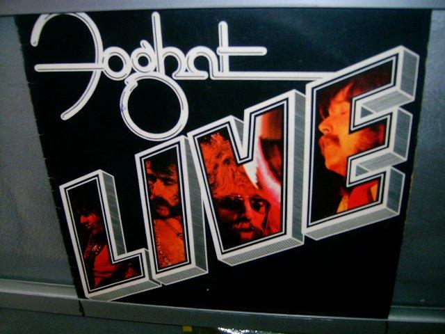 FOGHAT foghat live LP 1977 ROCK EXCELENTE MUITO RARO VINIL