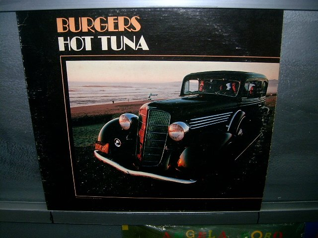 HOT TUNA Burgers LP 1972 ROCK SEMI-NOVO MUITO RARO VINIL