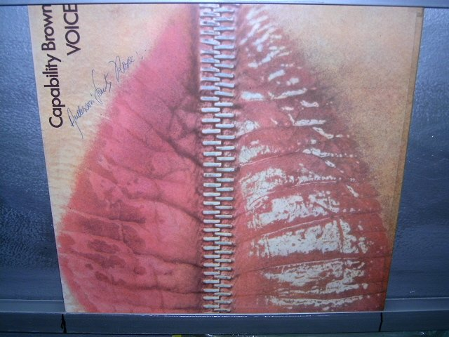 CAPABILITY BROWN Voice  LP 1975 ROCK**