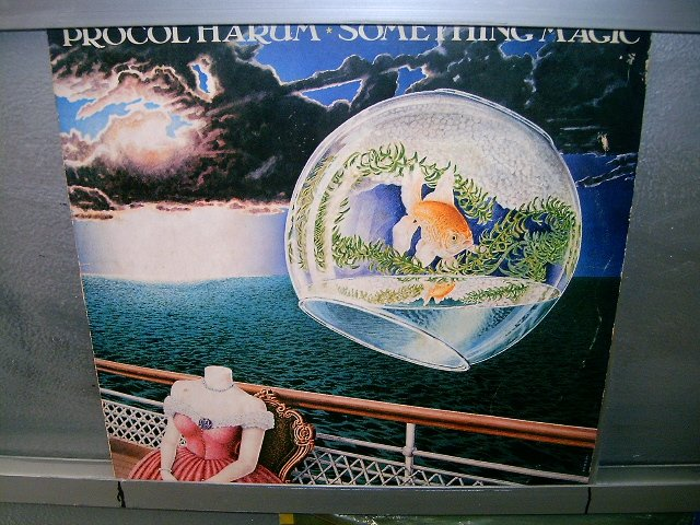 PROCOL HARUM something magic LP 1977 ROCK EXCELENTE MUITO RARO VINIL