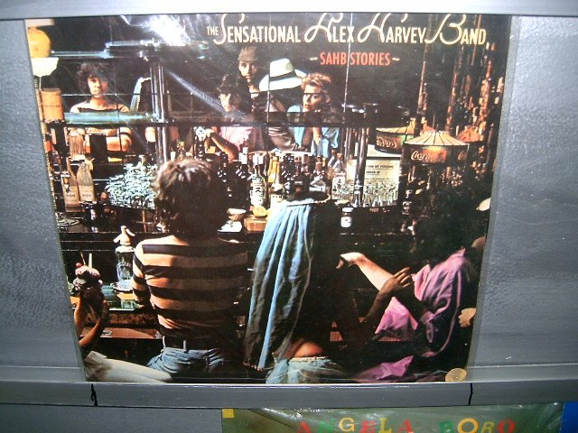 THE SENSATIONAL ALEX HARVEY BAND sahb stories LP 1977 ROCK**