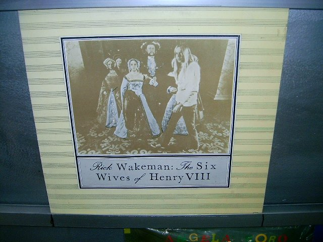 RICK WAKEMAN the six wives of henry 8 LP 1973 PROGRESSIVE ROCK**