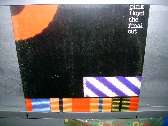 PINK FLOYD the final cut LP 1983 ROCK EXCELENTE MUITO RARO VINIL