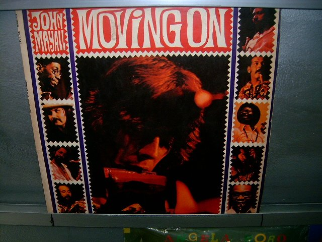 JOHN MAYALL moving on LP 1972 ROCK MUITO RARO VINIL