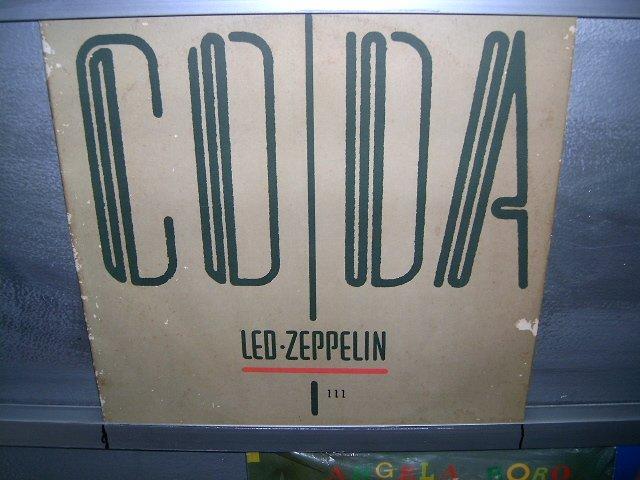 LED ZEPPELIN coda LP 1982 ROCK MUITO RARO VINIL