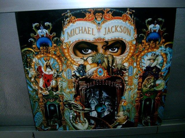 MICHAEL JACKSON dangerous LP 1991 POP EXCELENTE MUITO RARO VINIL