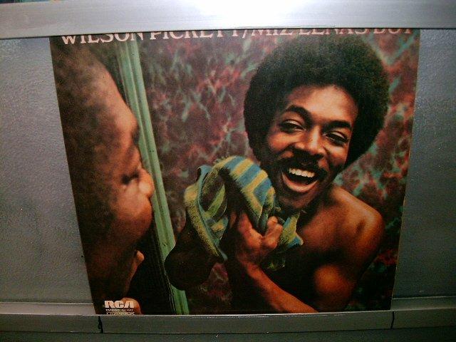 WILSON PICKET miz lena's boy LP 1974 BLACK MUSIC EXCELENTE MUITO RARO VINIL