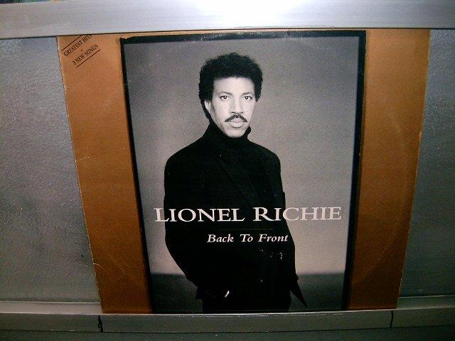 LEONEL RICHIE back to front 2LP 1992 DUPLO SEMI-NOVO MUITO RARO VINIL