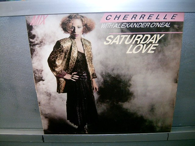 CHERRELLE WITH ALEXANDER O'NEAL saturday love LP 1985 POP MUITO RARO VINIL