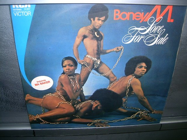 BONEY M. love for sale LP 1977 BLACK MUSIC MUITO RARO VINIL