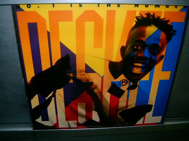DESKEE n1 is the number LP 1990 BLACK MUSIC SEMI-NOVO MUITO RARO VINIL
