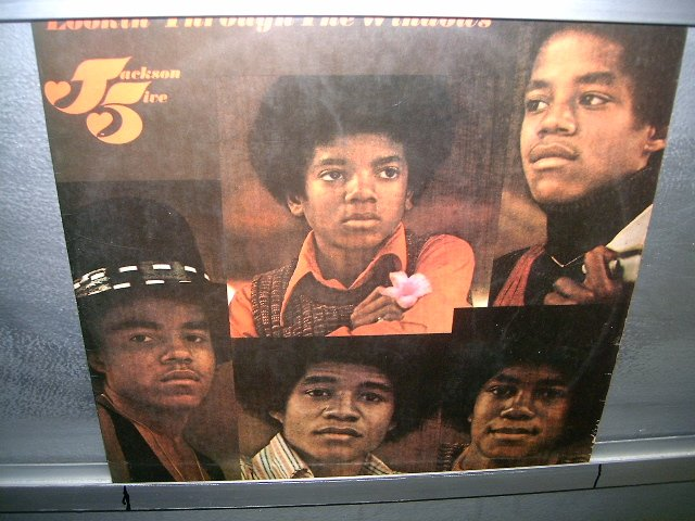THE JACKSON FIVE lookin' through the windows LP 1972 BLACK MUSIC EXCELENTE MUITO RARO VINIL