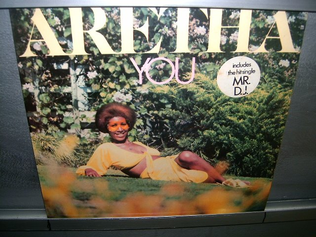 ARETHA FRANKLIN you LP 1976 BLACK MUSIC SEMI-NOVO MUITO RARO VINIL