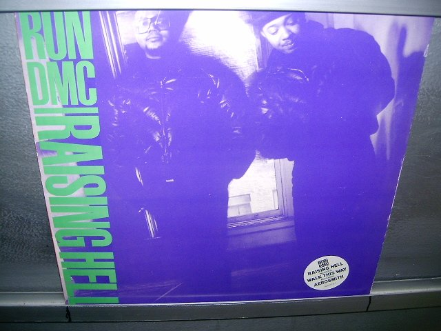 RUN DMC raising hell LP 1986 RAP MUITO RARO VINIL