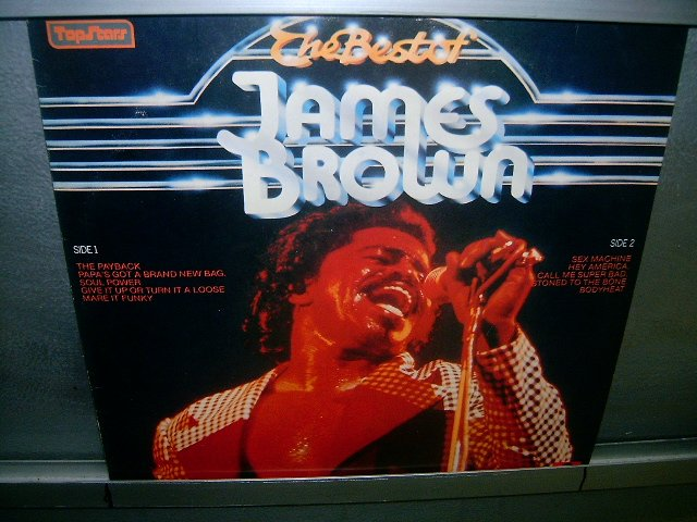 JAMES BROWN the best of james brown LP 1980 SOUL MUSIC SEMI-NOVO MUITO RARO VINIL