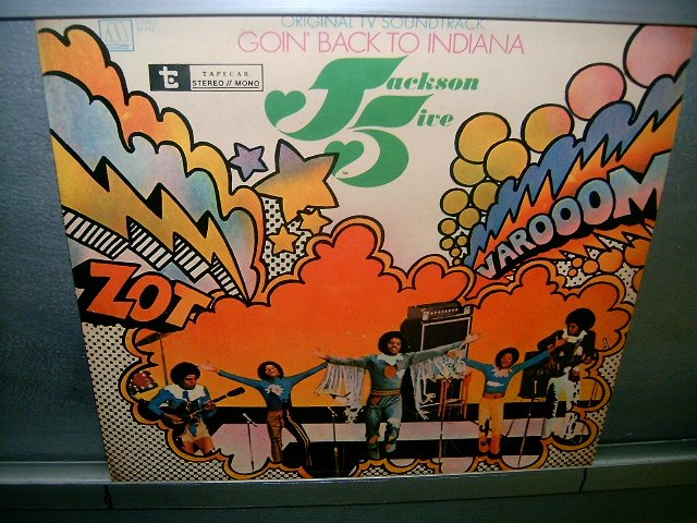 THE JACKSON 5 goin ' back to indiana LP 197? BLACK MUSIC EXCELENTE MUITO RARO VINIL