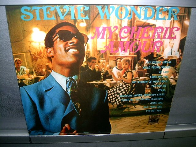 STEVIE WONDER my cherie amour LP 1969 BLACK MUSIC EXCELENTE MUITO RARO VINIL