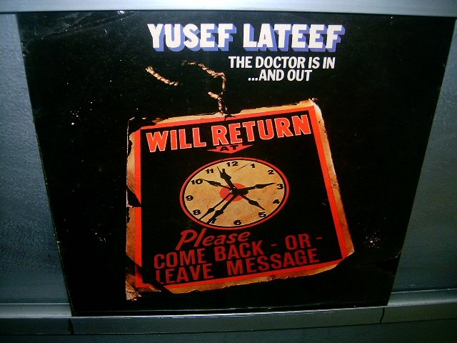 YUSEF LATEEF the doctor is in...and out LP 1977 BLACK MUSIC SELADO NOVO MUITO RARO VINIL