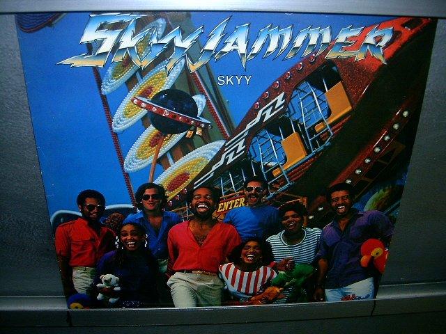 SKYYJAMMER skyy LP 1982 BLACK MUSIC EXCELENTE MUITO RARO VINIL