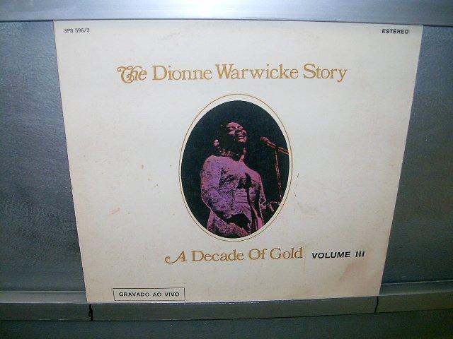 DIONNE WARWICKE the dionne warwicke story vol.3 LP 197? BLACK MUSIC MUITO RARO VINIL
