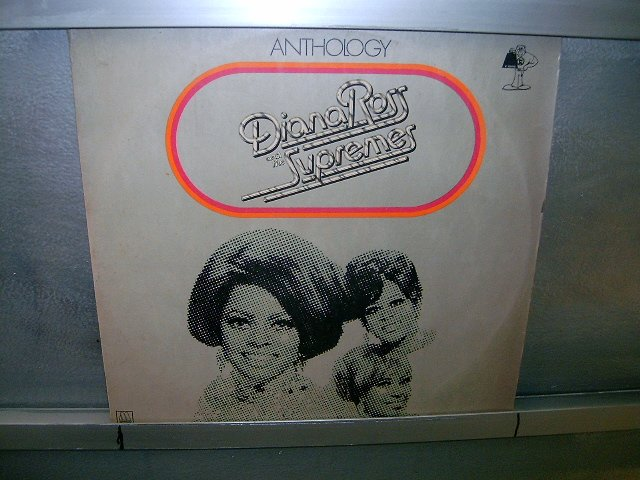DIANA ROSS & THE SUPREMES antologia LP 1974 BLACK MUSIC MUITO RARO VINIL