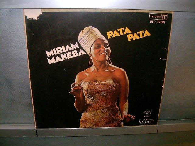 MIRIAN MAKEBA pata pata LP 1968 BLACK MUSIC MUITO RARO VINIL