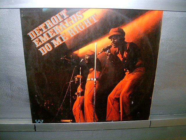 DETROIT EMERALDS do me right LP 197? BLACK MUSIC EXCELENTE MUITO RARO VINIL