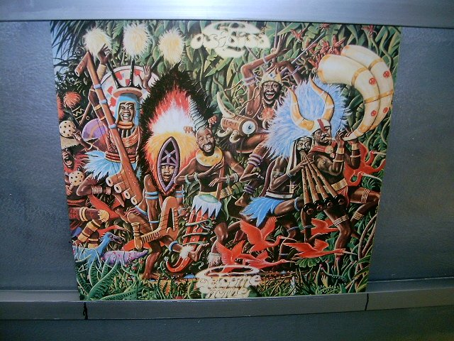 OSIBISA welcome home LP 1977 BLACK MUSIC EXCELENTE MUITO RARO VINIL