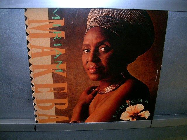 MIRIAM MAKEBA sangoma LP 1988 BLACK MUSIC EXCELENTE MUITO RARO VINIL