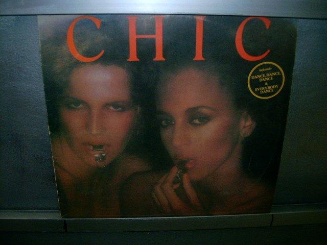CHIC chic LP 1978 BLACK MUSIC EXCELENTE MUITO RARO VINIL