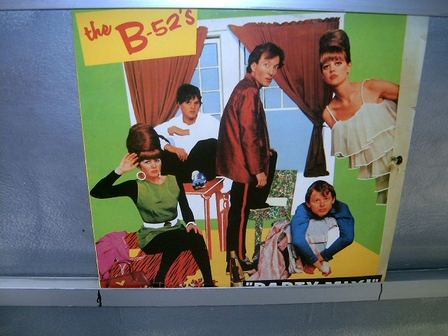 THE B-52'S party mix LP 1984 NEW WAVE SEMI-NOVO MUITO RARO VINIL