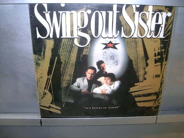 SWING OUT SISTER it's better to travel LP 1987 POP*