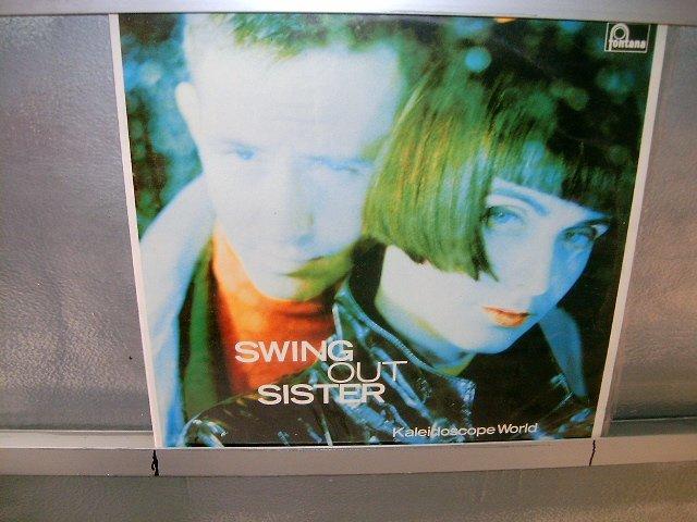 SWING OUT SISTER kaleidoscope world LP 1989 POP SEMI-NOVO MUITO RARO VINIL