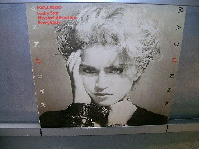 MADONNA madonna LP 1982 POP EXCELENTE MUITO RARO VINIL