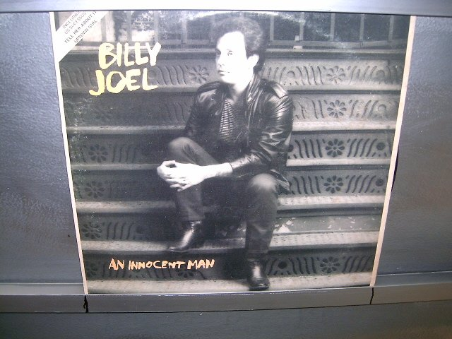 BILLY JOEL an innocent man LP 1983 POP SEMI-NOVO MUITO RARO VINIL