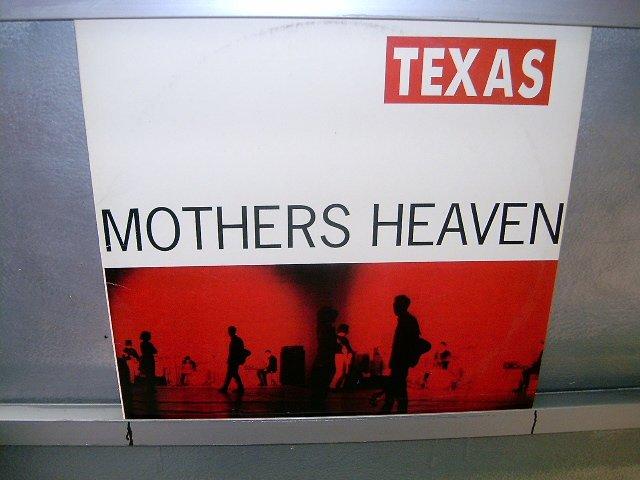 TEXAS mothers heaven LP 1991 ALTERNATIVO SEMI-NOVO MUITO RARO VINIL
