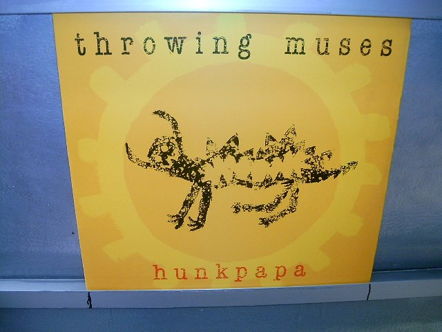 THROWING MUSES hunkpapa LP 1989 ALTERNATIVO SEMI-NOVO MUITO RARO VINIL