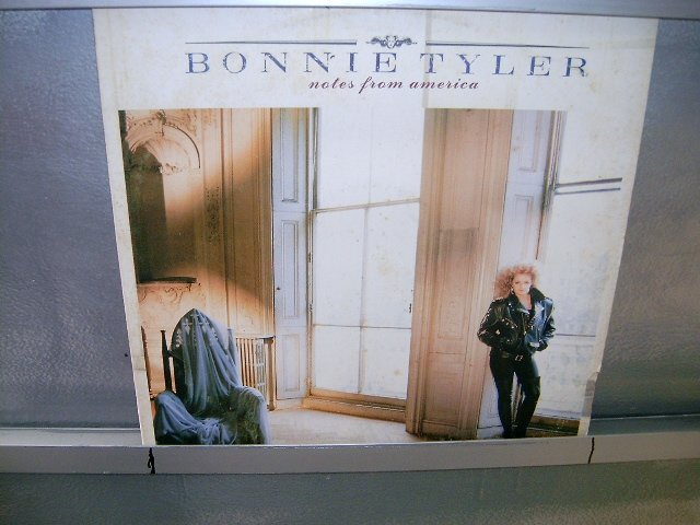 BONNIE TYLER notes from america LP 1988 POP EXCELENTE MUITO RARO VINIL