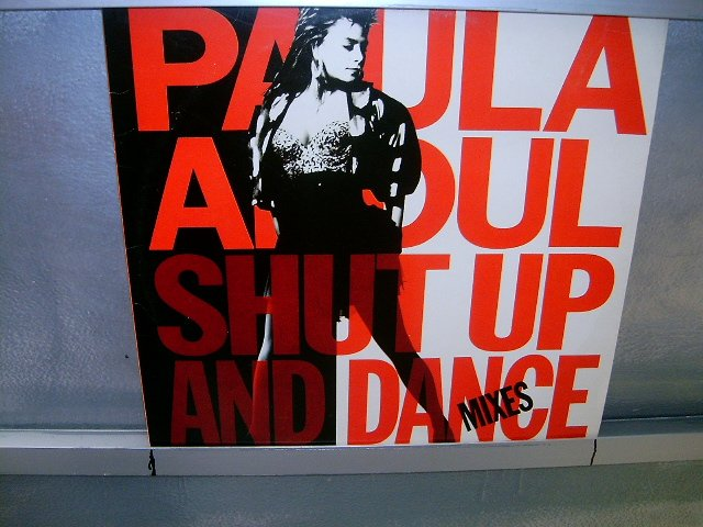 PAULA ABDUL shut up and dance LP 1990 POP EXCELENTE MUITO RARO VINIL