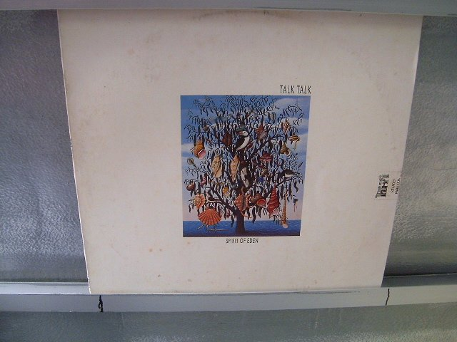 TALK TALK spirit of eden LP 1988 NEW WAVE SEMI-NOVO MUITO RARO VINIL