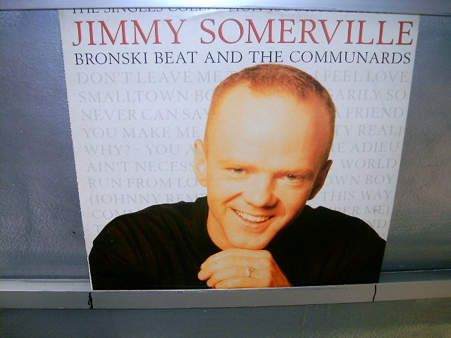 JIMMY SOMERVILLE  & THE COMMUNICARDS the singles colection LP 1991 POP SEMI-NOVO MUITO RARO