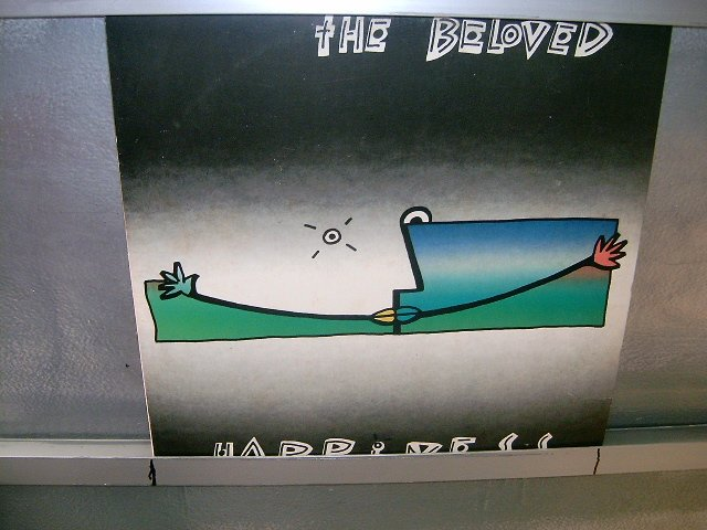 THE BELOVED happiness LP 1990 NEW WAVE EXCELENTE MUITO RARO VINIL