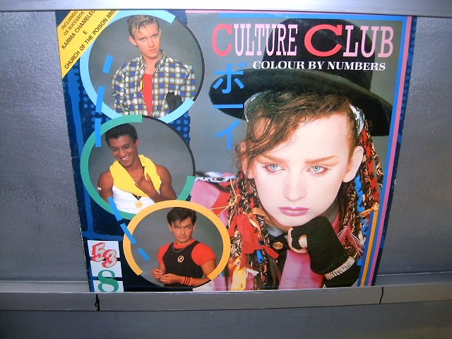 CULTURE CLUB colour by numbers LP 1984 NEW WAVE EXCELENTE MUITO RARO VINIL