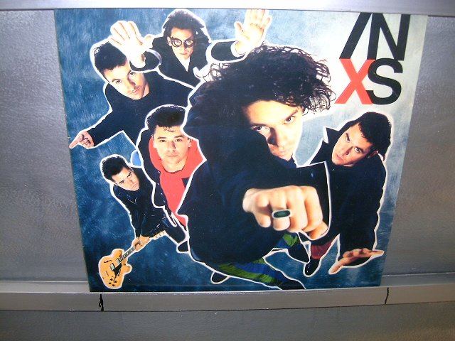 INXS x LP 1990 ROCK 80'S MUITO RARO VINIL
