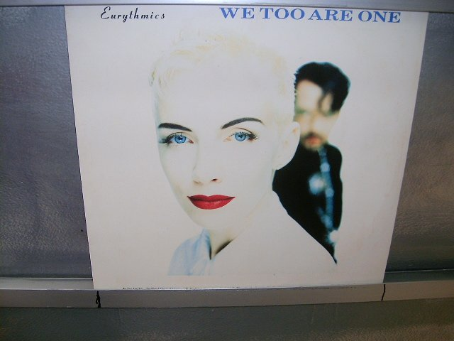 EURYTHMICS we two are are one LP 1989 SYNTH POP SEMI-NOVO MUITO RARO VINIL